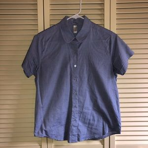 American Apparel chambray button up